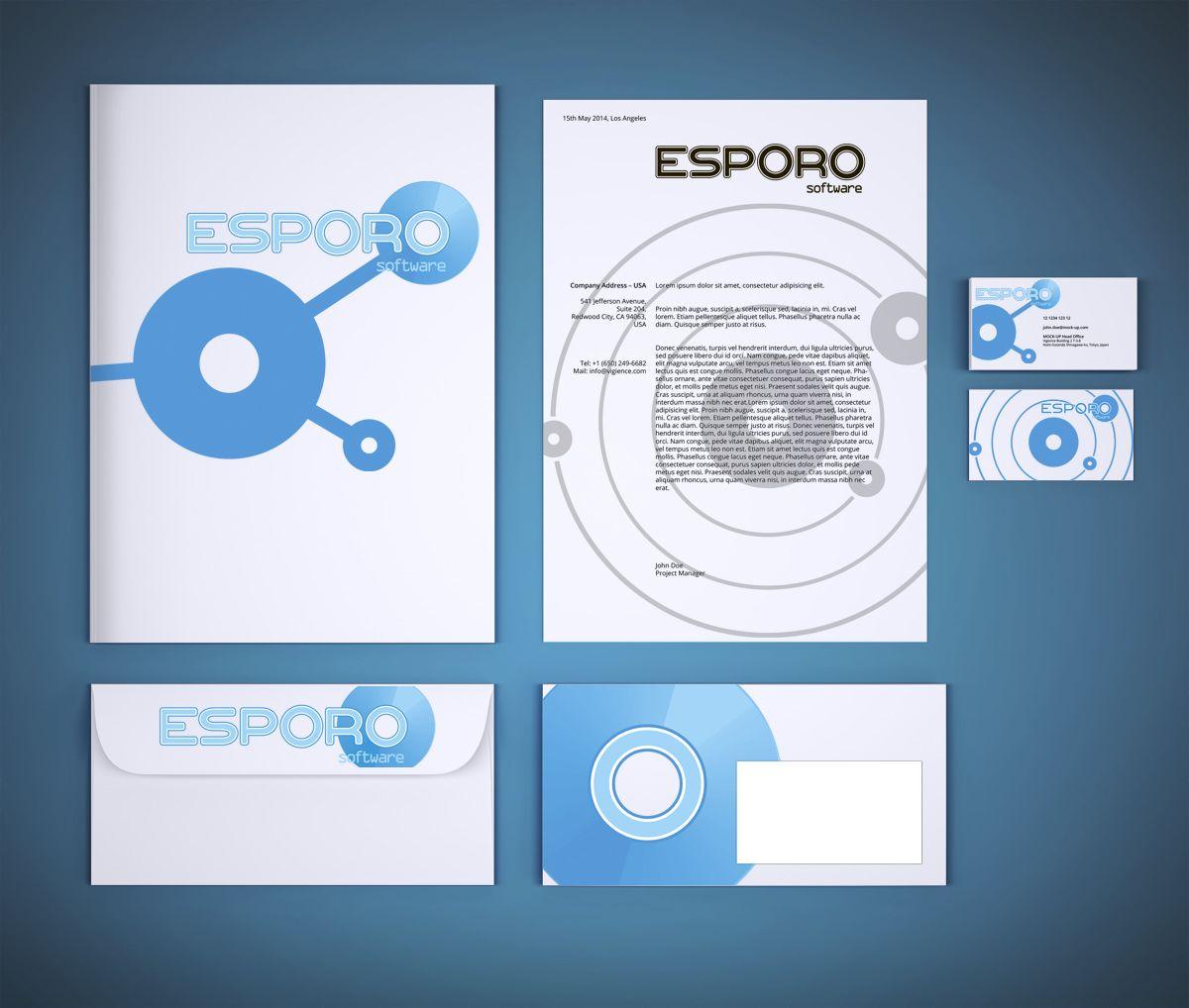 Логотип и фирменный стиль для ИТ-компании - дизайнер vision
