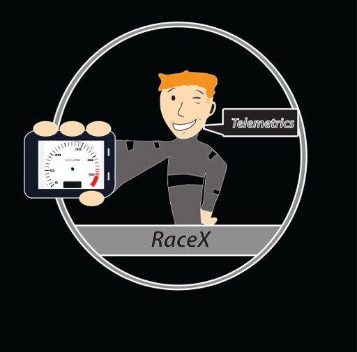 Логотип RaceX Telemetrics  - дизайнер DEAGLOS