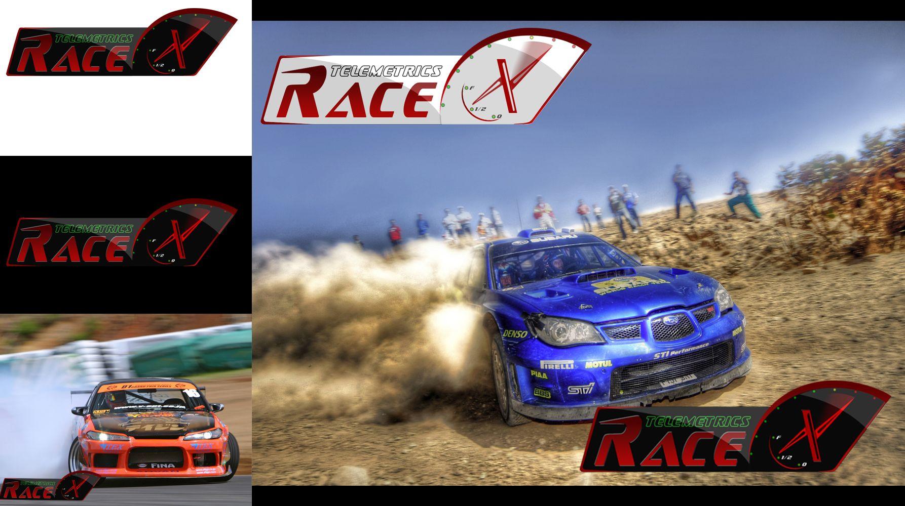 Логотип RaceX Telemetrics  - дизайнер megustaz