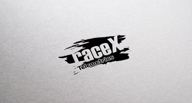 Логотип RaceX Telemetrics  - дизайнер VF-Group