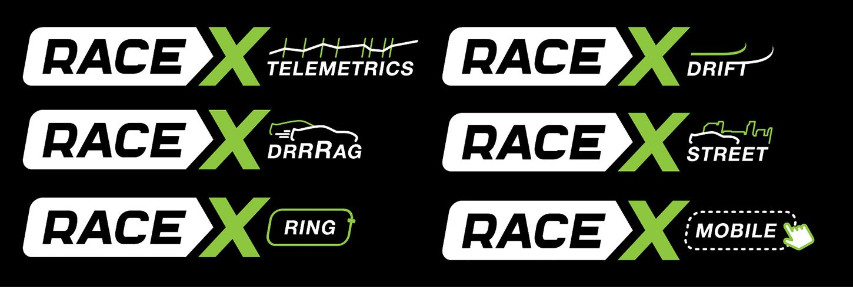 Логотип RaceX Telemetrics  - дизайнер watszup