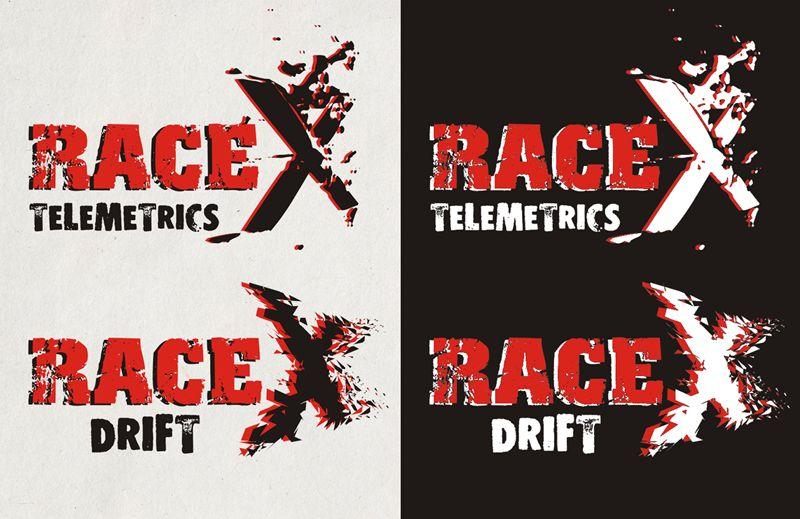 Логотип RaceX Telemetrics  - дизайнер LLight