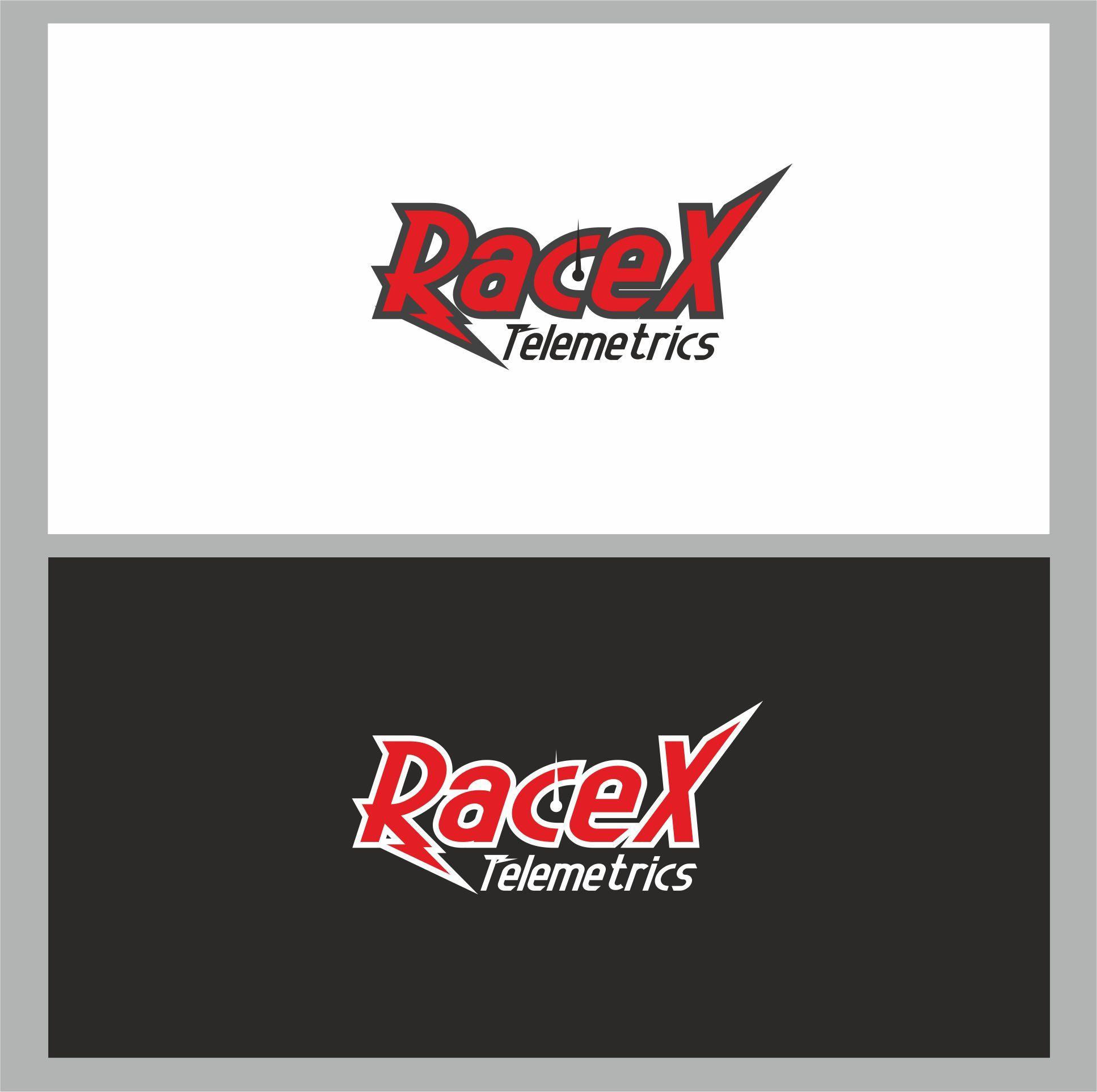 Логотип RaceX Telemetrics  - дизайнер dbyjuhfl