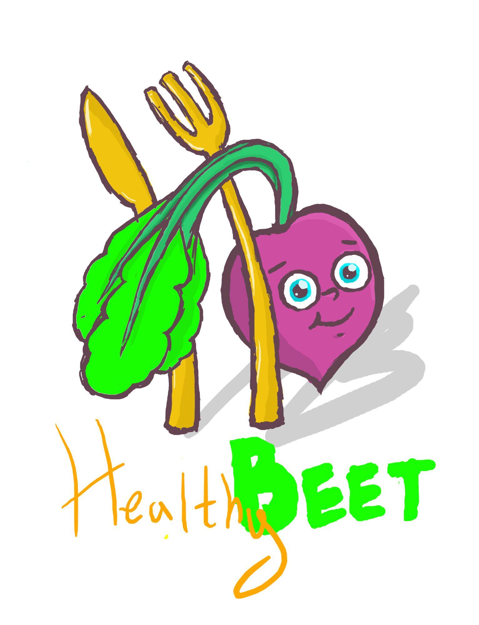 Healthy Bit или Healthy Beet - дизайнер hedgehog