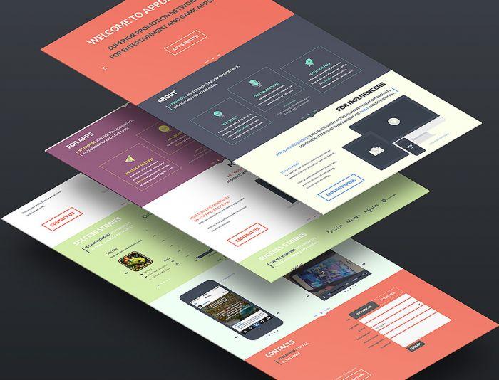 Адаптивный дизайн главной сайта (под мобилки) - дизайнер fanateec