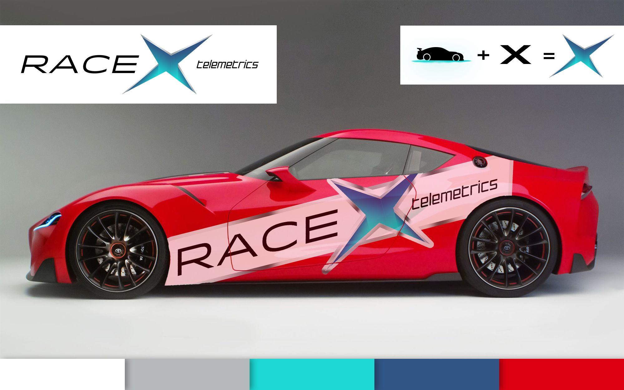 Логотип RaceX Telemetrics  - дизайнер Vladekus