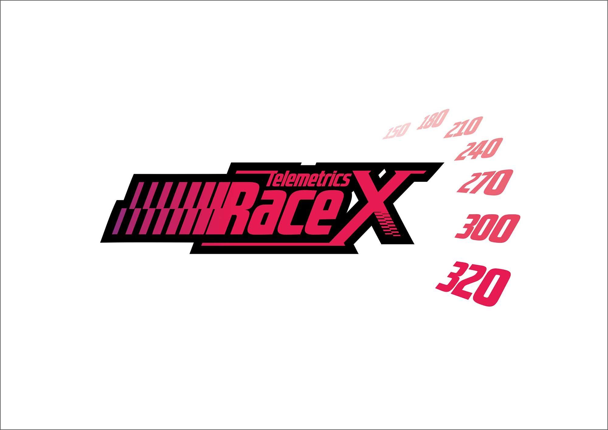 Логотип RaceX Telemetrics  - дизайнер cga-design
