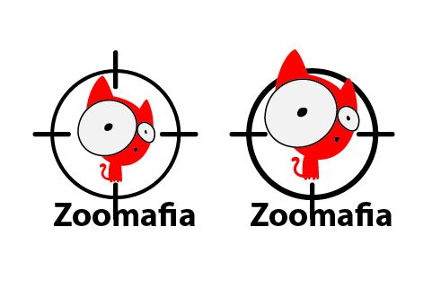 Логотип для интернет магазина зоотоваров - дизайнер VikkiWolf
