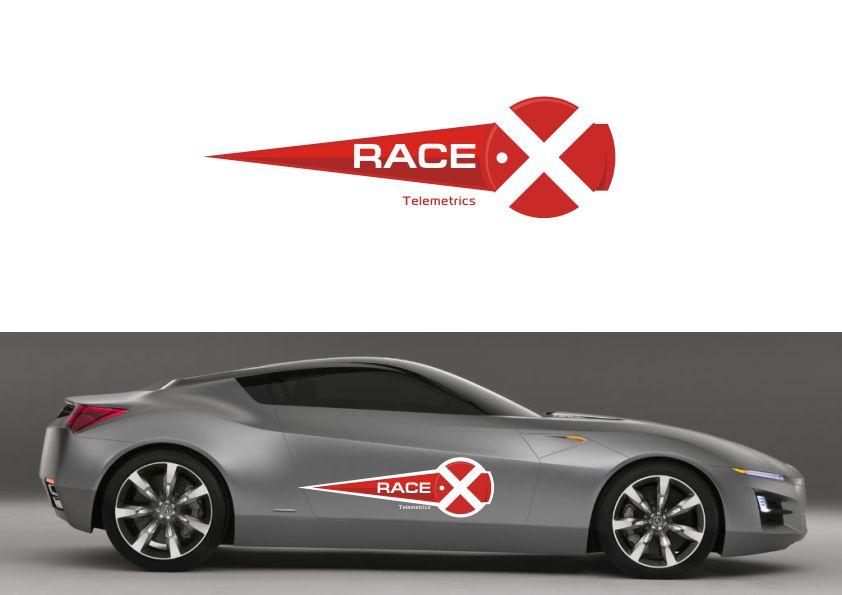Логотип RaceX Telemetrics  - дизайнер Yak84