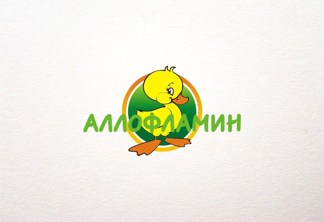 Логотип препарата Аллофламин - дизайнер Seejah
