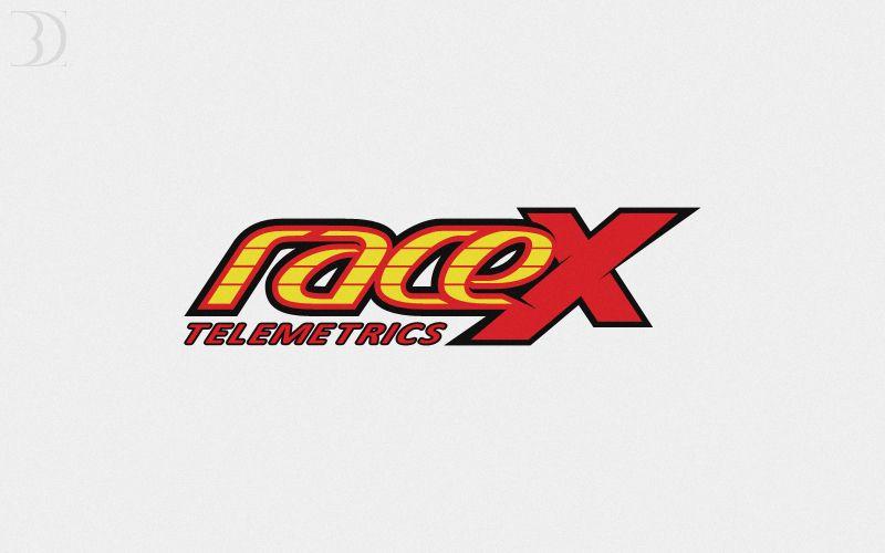 Логотип RaceX Telemetrics  - дизайнер B-DAYLIGHT