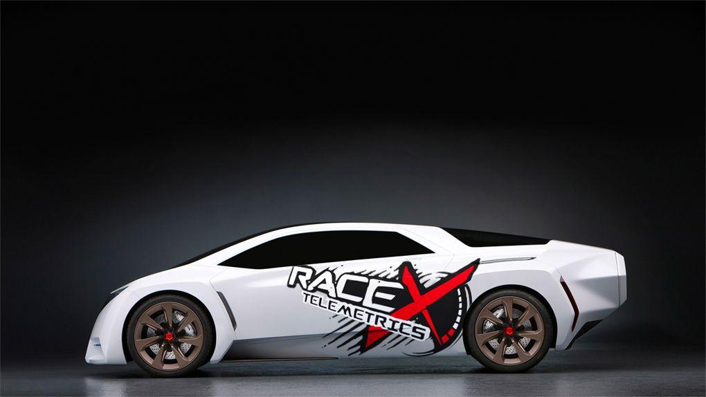 Логотип RaceX Telemetrics  - дизайнер 180barspin
