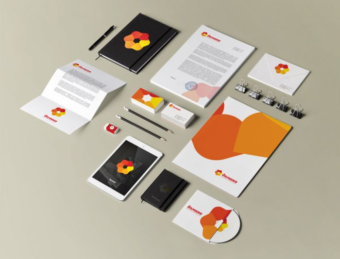 Разработка фирменного стиля (логотип готовый)  - дизайнер VF-Group