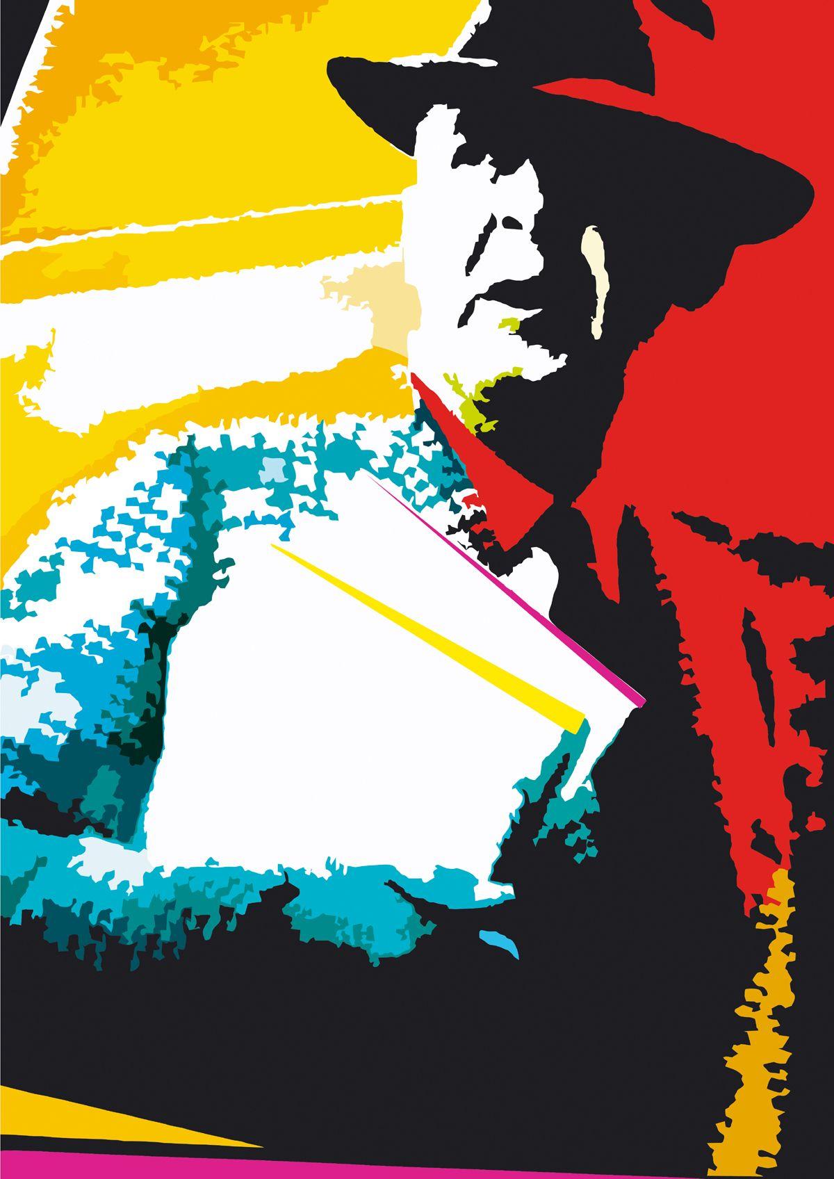 Плакат-портрет Владимира Набокова - дизайнер ddd2000