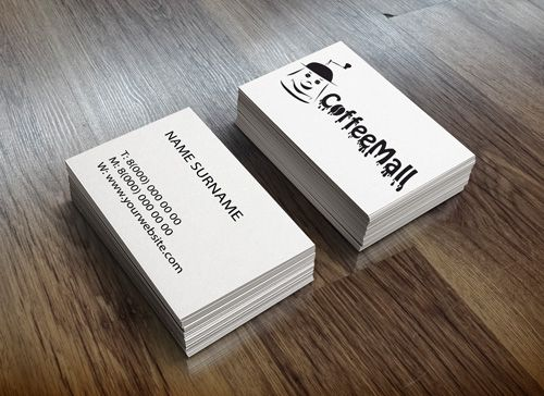 Фирменный стиль для компании КофеМолл - дизайнер Alladushek