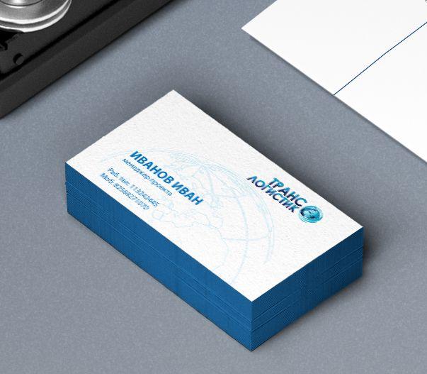 Логотип и визитка для транспортной компании - дизайнер NadegdaIvakaeva