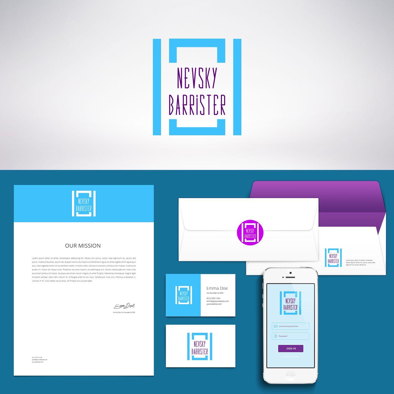 лого и фирменный стиль для адвокатского кабинета - дизайнер Nostr
