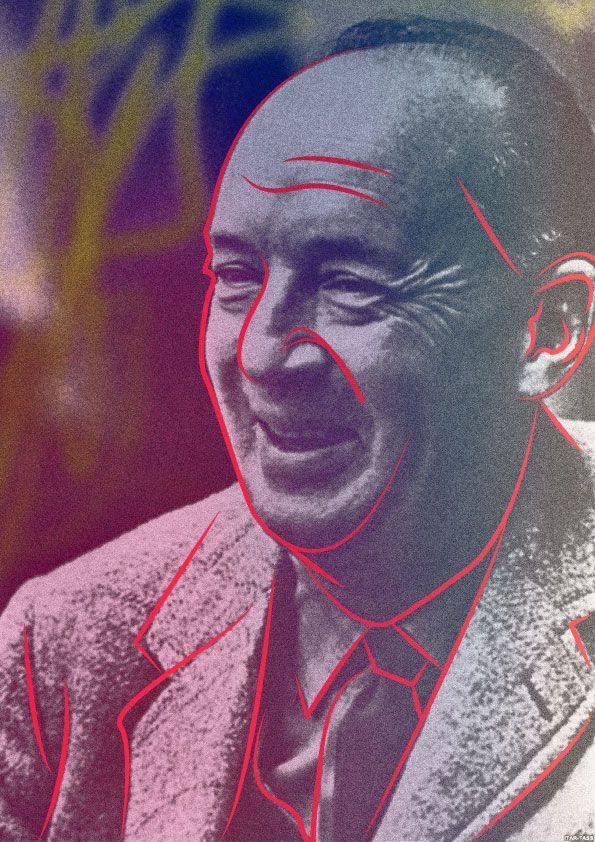 Плакат-портрет Владимира Набокова - дизайнер MashaOwl