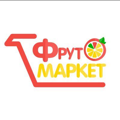 Логотип-вывеска фруктово-овощных магазинов премиум - дизайнер Barbagorga