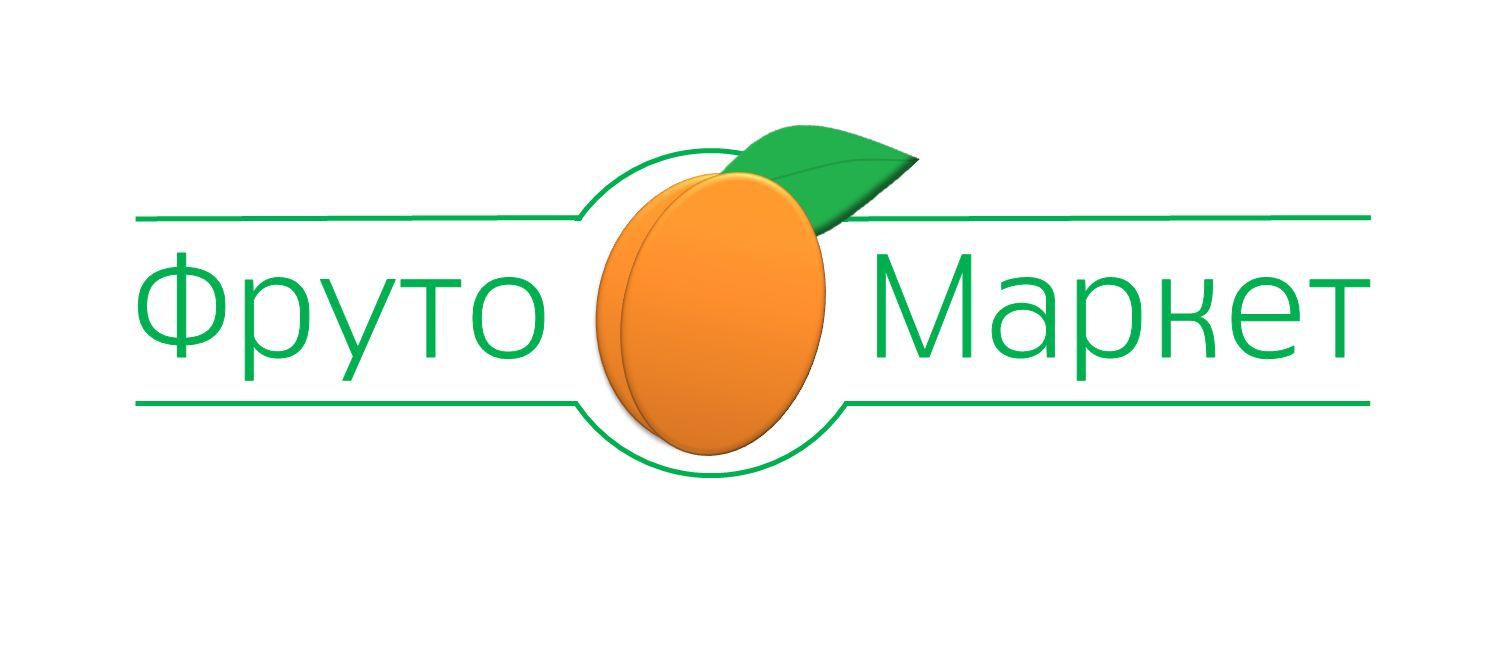 Логотип-вывеска фруктово-овощных магазинов премиум - дизайнер k-hak