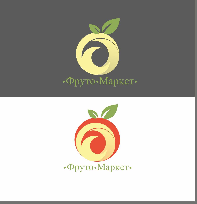 Логотип-вывеска фруктово-овощных магазинов премиум - дизайнер JeckGor