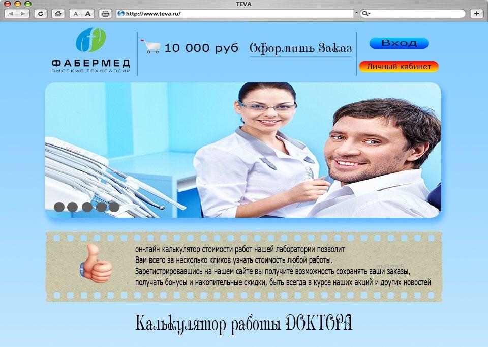 Интернет магазин для профессионалов (b2b)  - дизайнер lp1311201