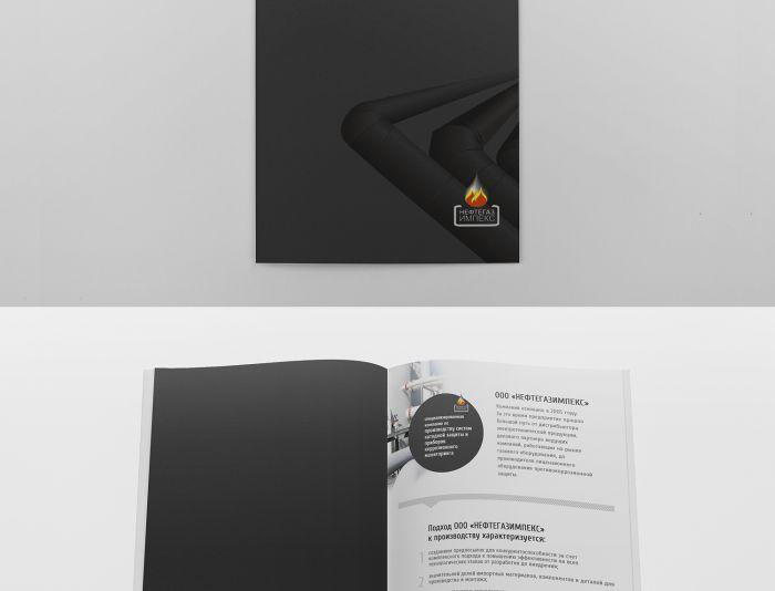 Рекламный буклет оборудования - дизайнер Evgenia11