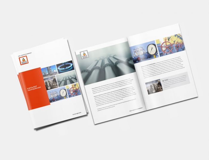 Рекламный буклет оборудования - дизайнер benks