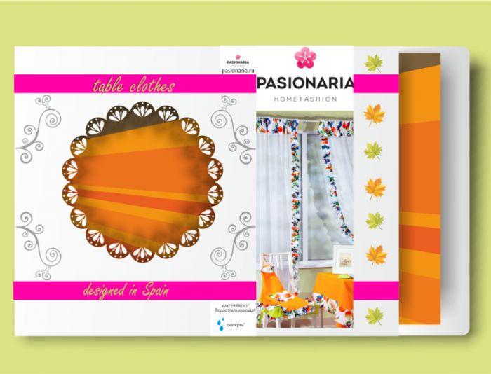 Создание макета подарочной упаковки для скатертей - дизайнер sv58