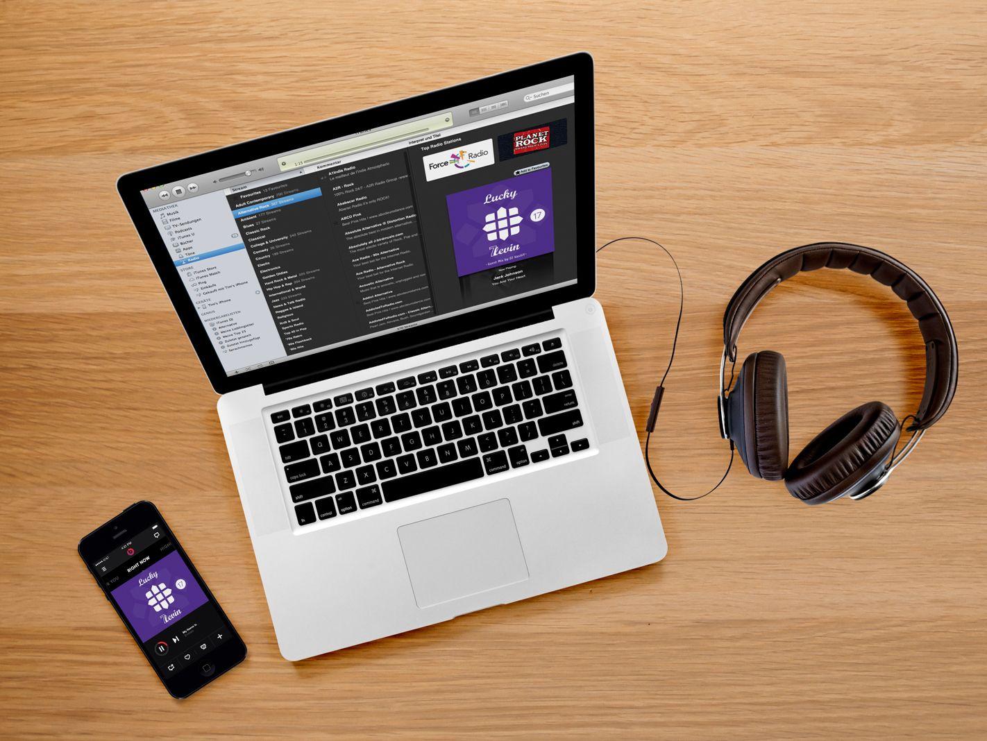 Обложка музыкального подкаста в iTunes - дизайнер Enrik