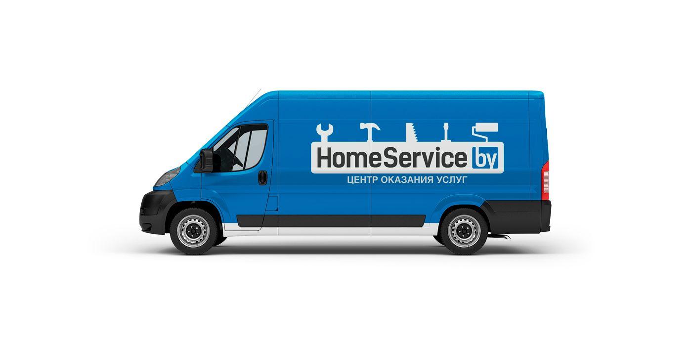 Логотип для компании HomeService - дизайнер NIL555