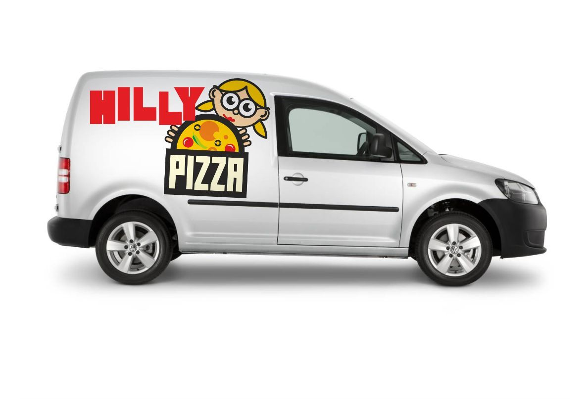 Доставка пиццы Хилли пицца\HILLY PIZZA - дизайнер ruh567