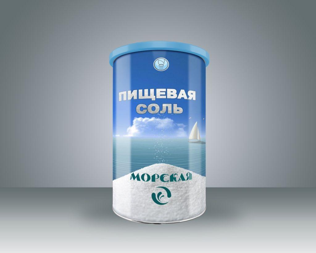 Дизайн этикетки для соли пищевой морской  - дизайнер Keroberas