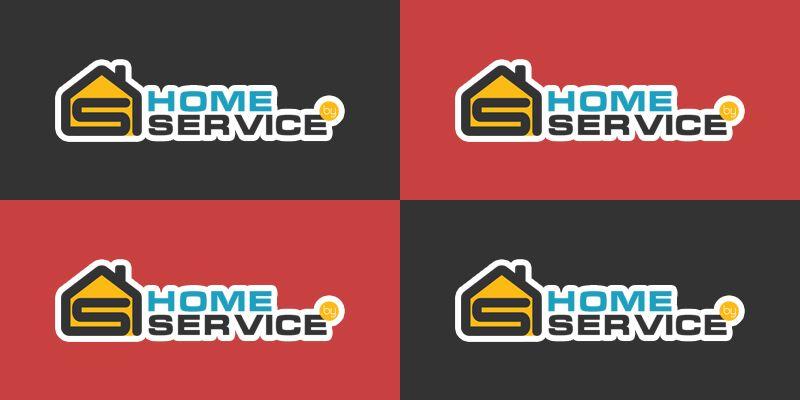 Логотип для компании HomeService - дизайнер vitaly-tm
