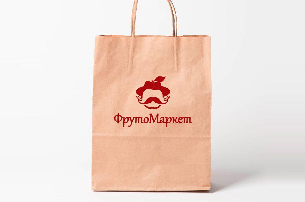 Логотип-вывеска фруктово-овощных магазинов премиум - дизайнер FONBRAND