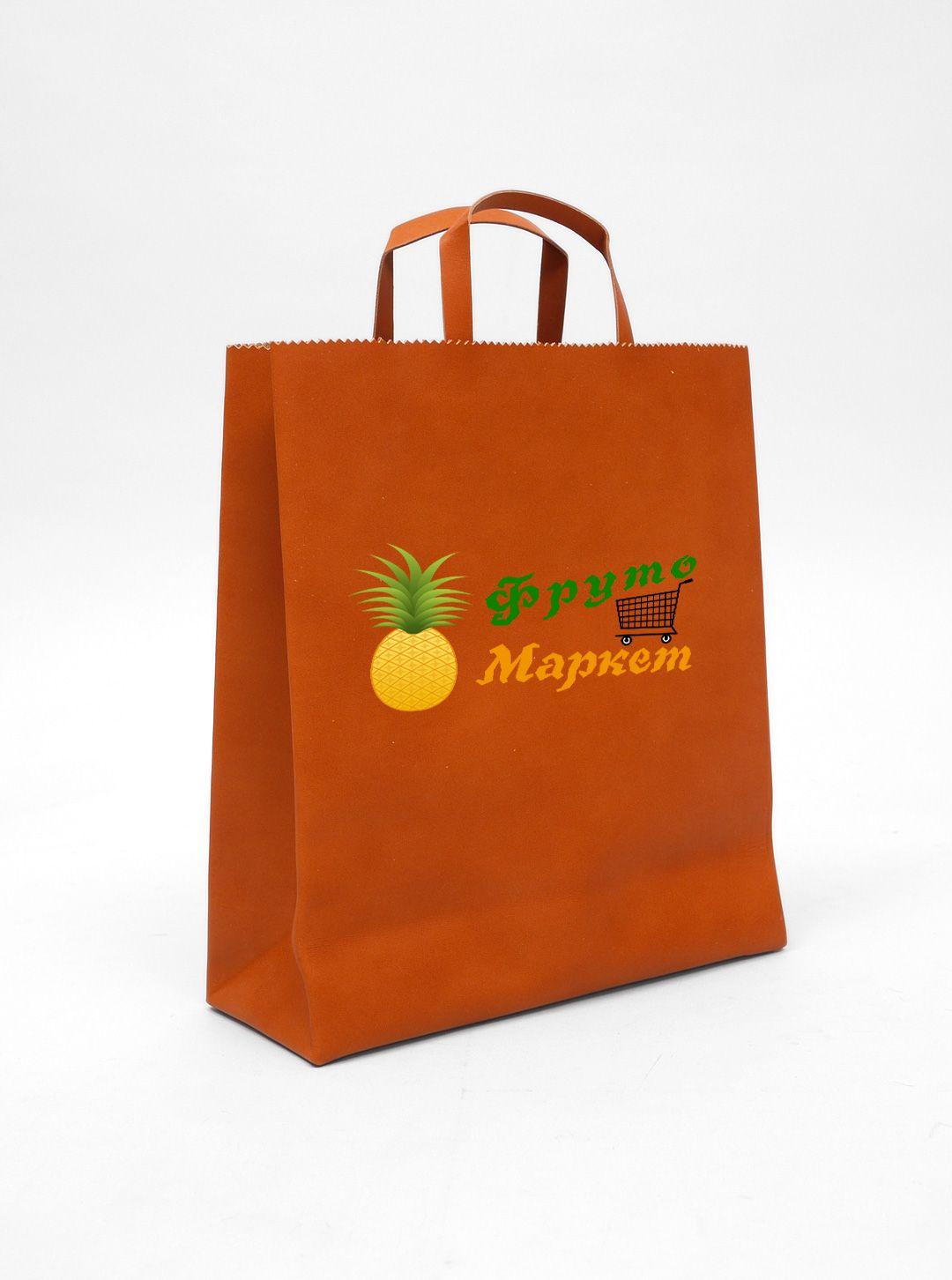 Логотип-вывеска фруктово-овощных магазинов премиум - дизайнер Drobek