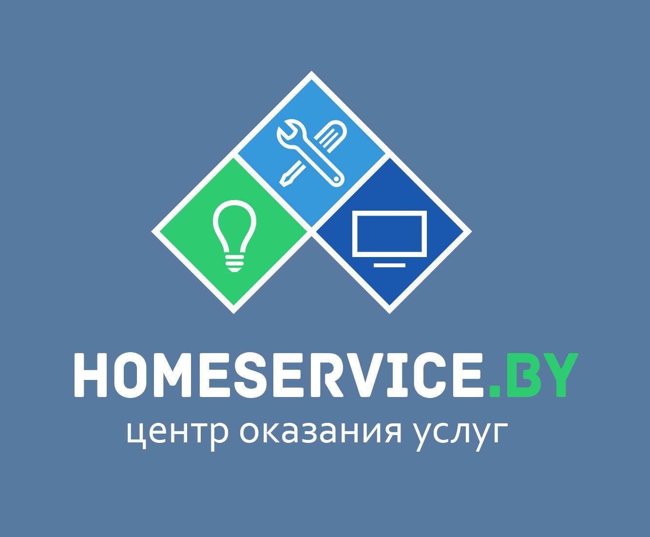 Логотип для компании HomeService - дизайнер Tigra