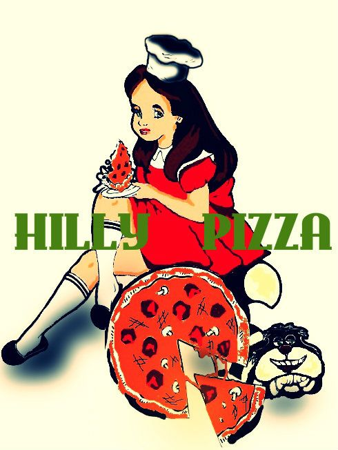 Доставка пиццы Хилли пицца\HILLY PIZZA - дизайнер Ketrina