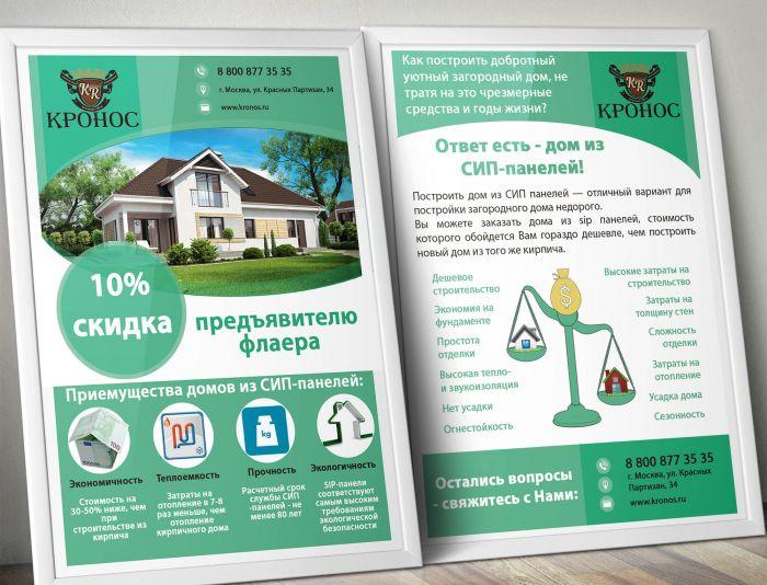 Стоимость дизайна листовок