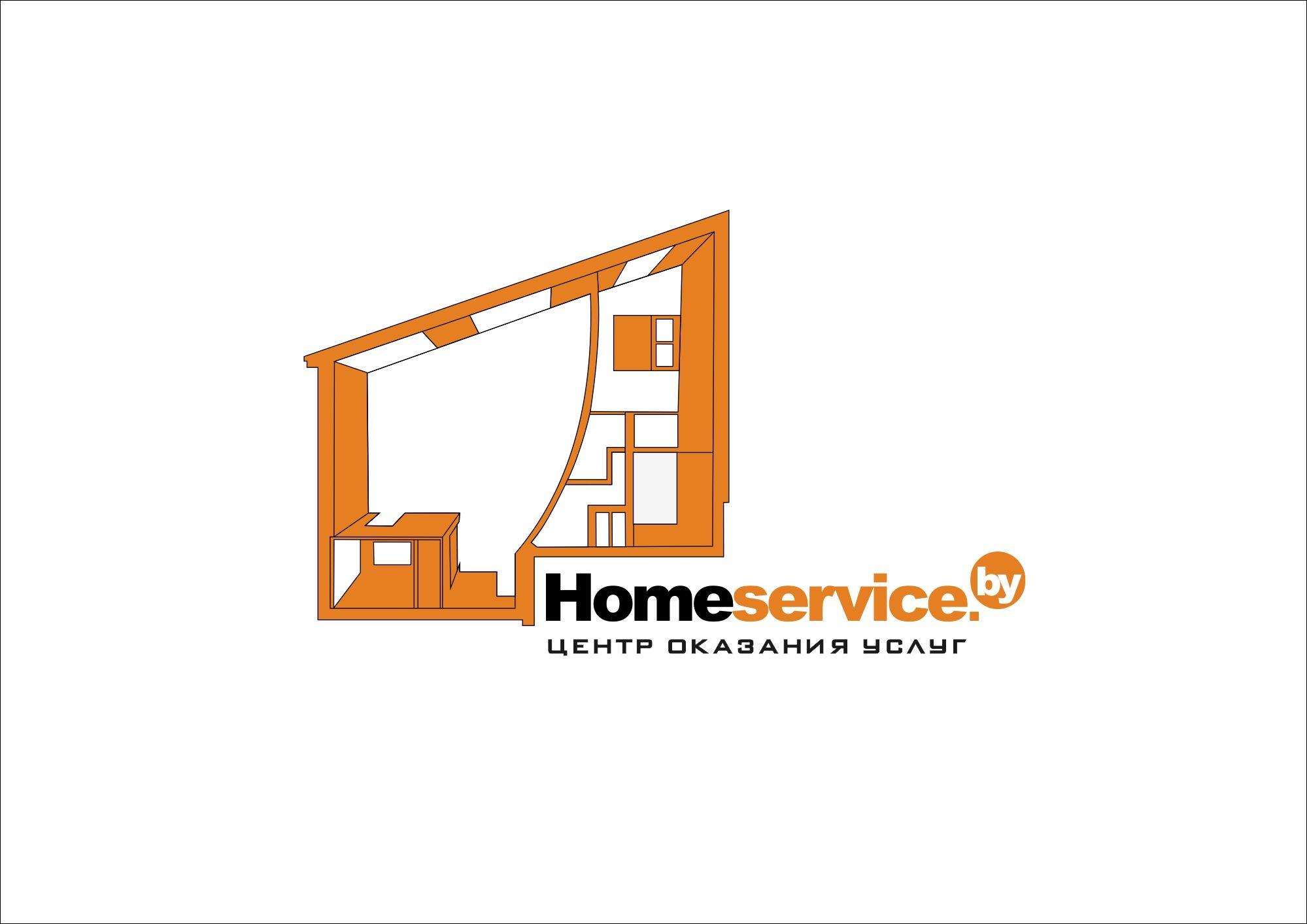 Логотип для компании HomeService - дизайнер nastjanastja