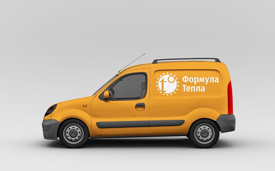 Логотип для компании Формула Тепла - дизайнер AlexUnder_43