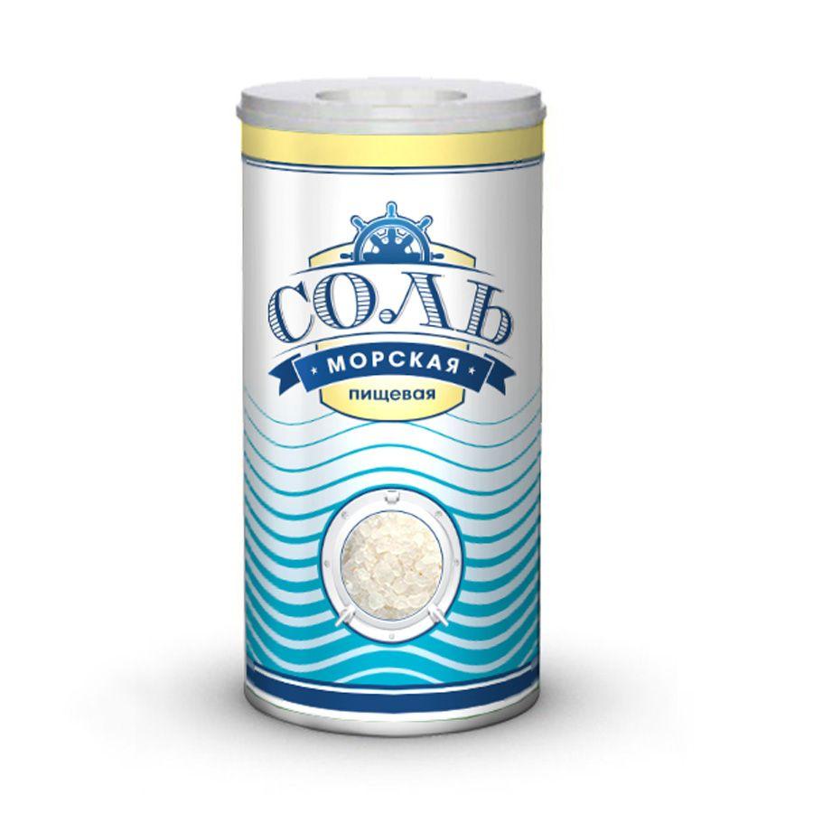 Дизайн этикетки для соли пищевой морской  - дизайнер a_mel_in