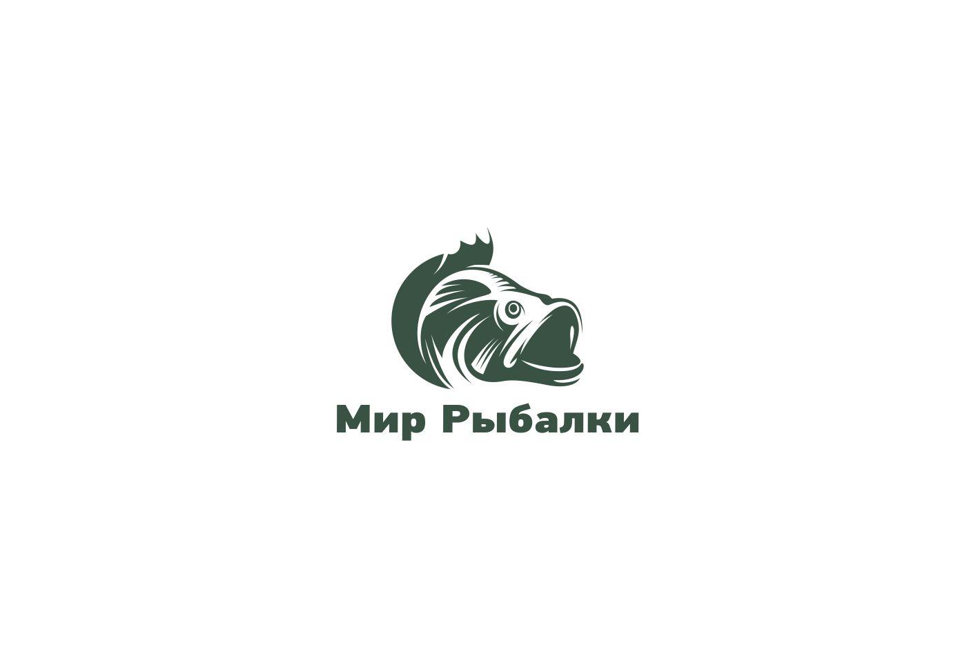 Логотип рыболовного магазина - дизайнер remezlo