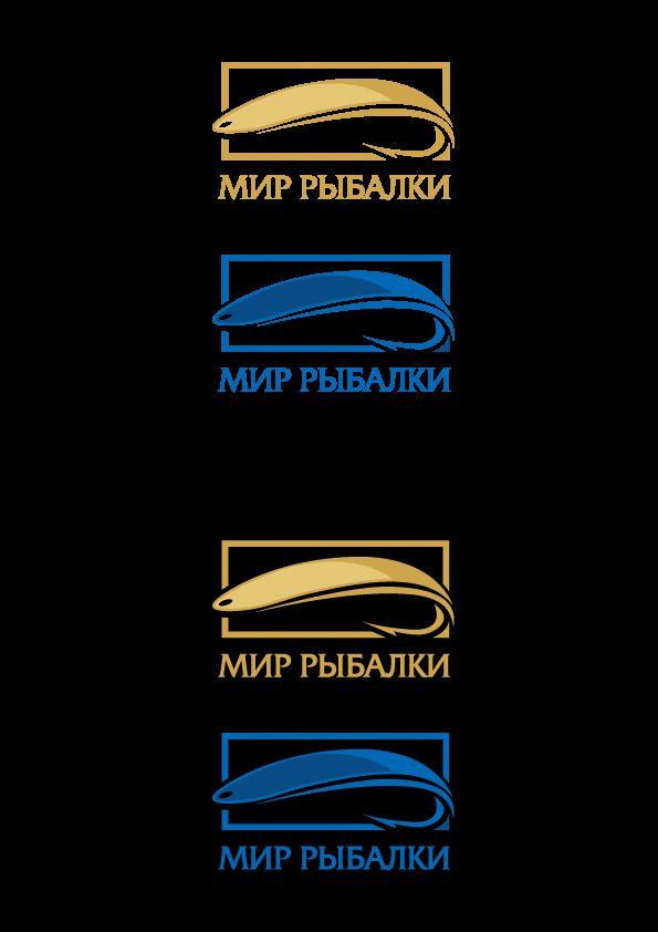 Логотип рыболовного магазина - дизайнер peps-65