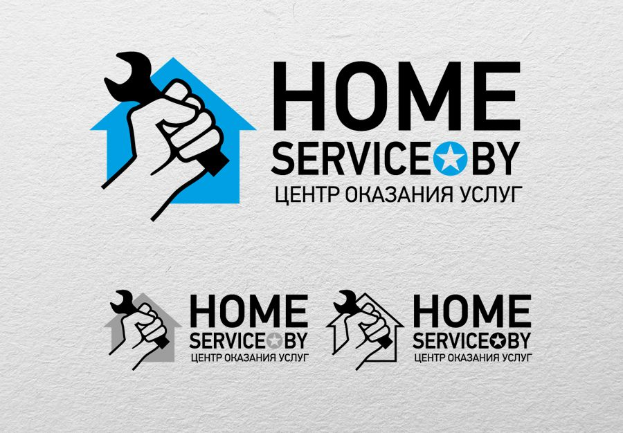 Логотип для компании HomeService - дизайнер oleg_khalimov