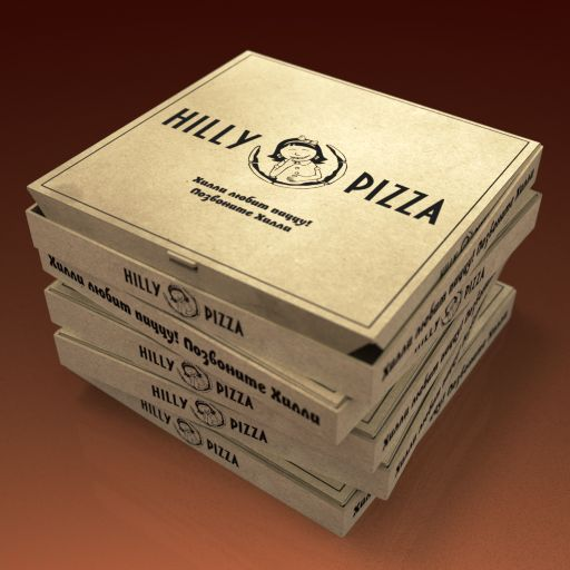 Доставка пиццы Хилли пицца\HILLY PIZZA - дизайнер ubo