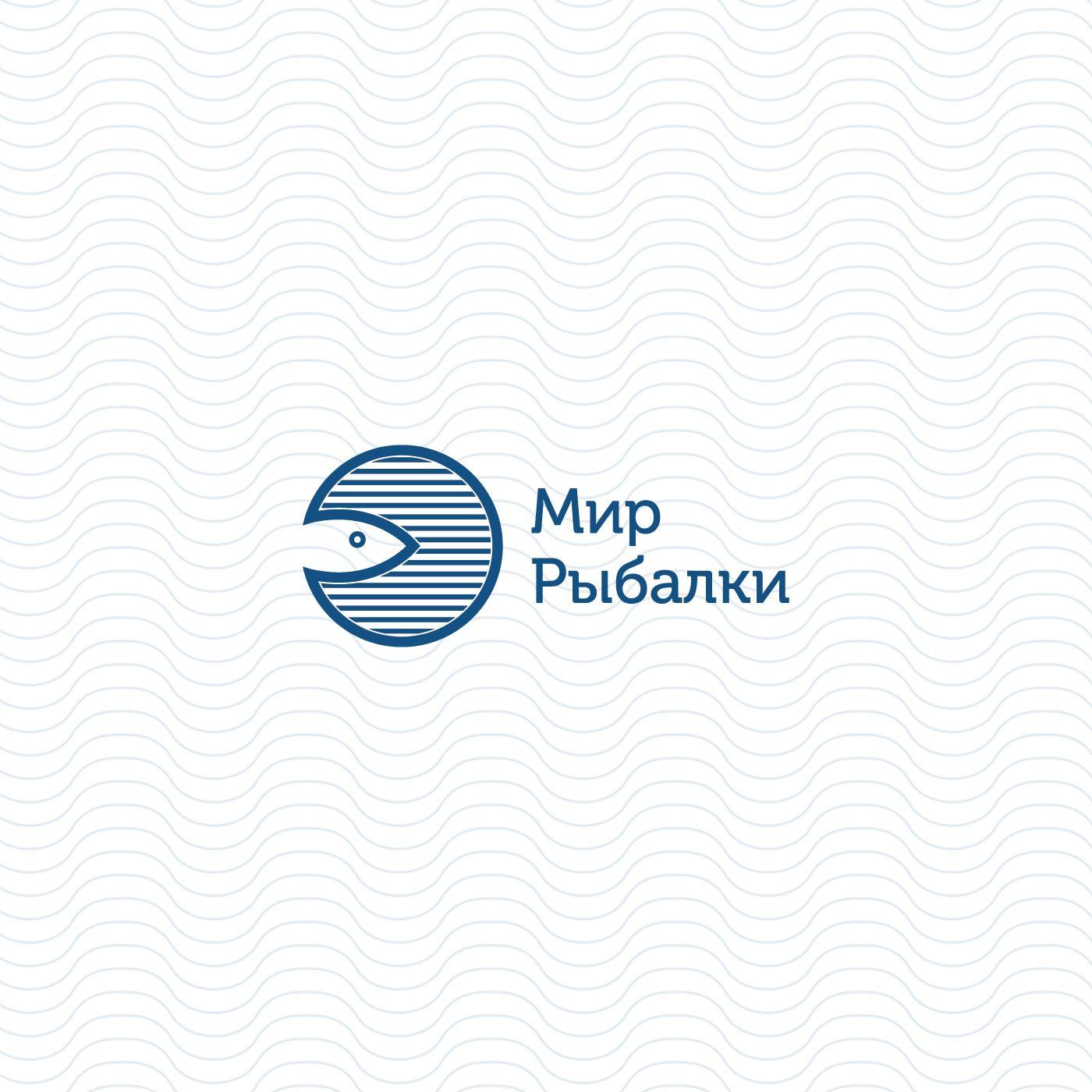 Логотип рыболовного магазина - дизайнер rikozi