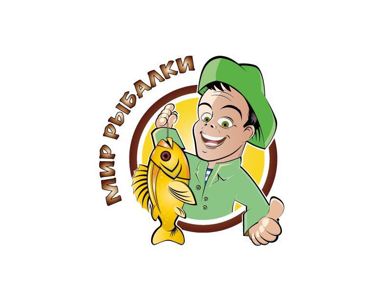Логотип рыболовного магазина - дизайнер Yuliya