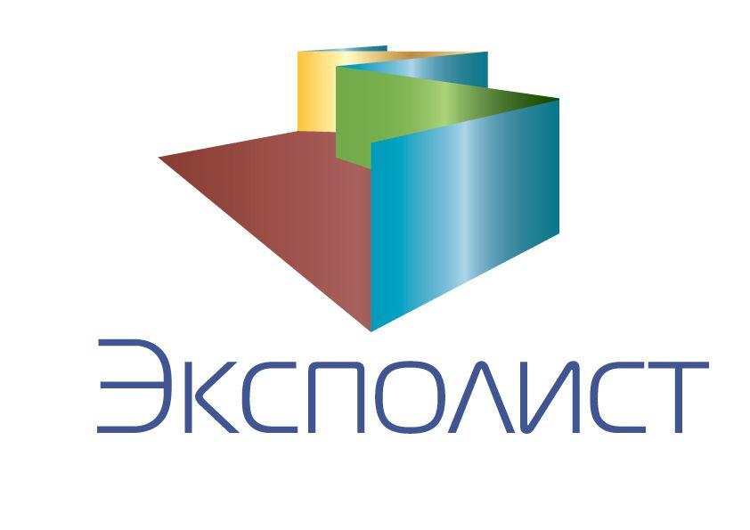 Логотип выставочной компании Эксполист - дизайнер Antonska