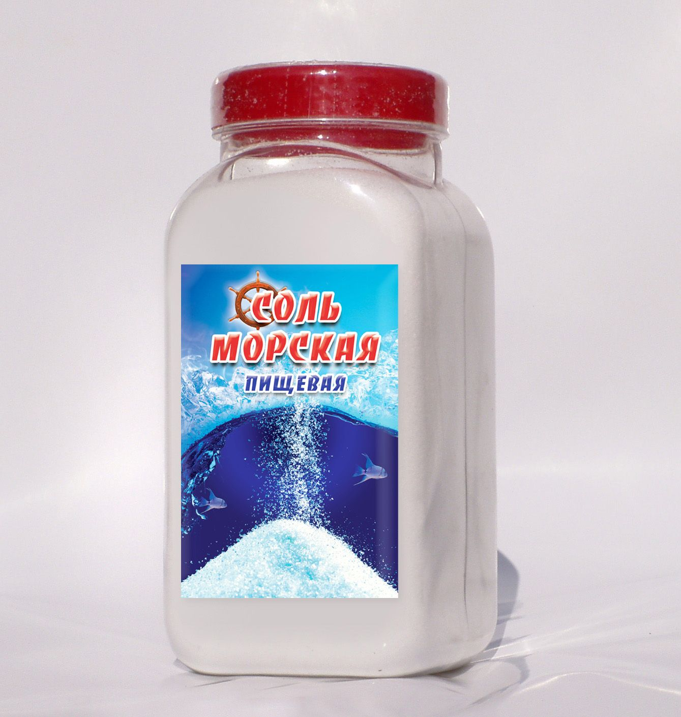 Дизайн этикетки для соли пищевой морской  - дизайнер Scorp